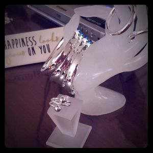 (NWT) Silver Plated Set